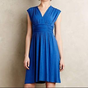 Anthro Tracey Reese Dancette Dress blue